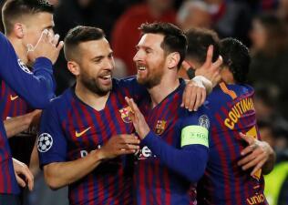 En fotos: la barrida del Barcelona para clasificar a Cuartos de Final de Champions League