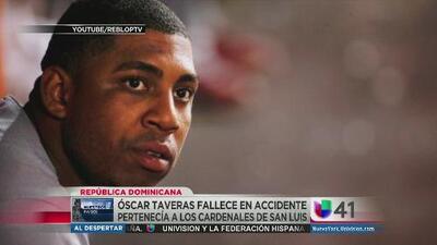 """Luto en Las Grandes Ligas tras la muerte de """"scar Taveras"""