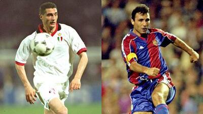 UCL | Milan campeón al golear 4-0 al Barcelona de Hristo Stoichkov, Romario y Johan Cruyff