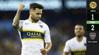 Boca Juniors remontó al América en la Colossus Cup con golazos de Zárate