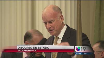 Jerry Brown dará su informe de estado