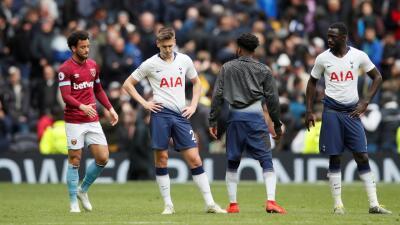 En fotos: sin Chicharito, West Ham le propinó su primera derrota al Tottenham en su nuevo estadio