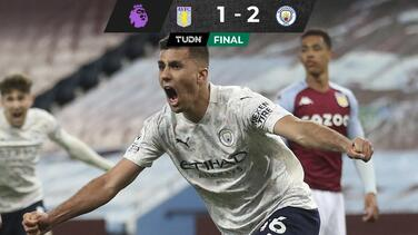 Manchester City viene de atrás para derrotar al Aston Villa