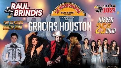Prepárate para 'Gracias Houston 2019' y sé parte del evento más esperado