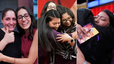 Lágrimas de felicidad para celebrar a las tres finalistas de 'Quinceañera: un sueño cumplido' (fotos)