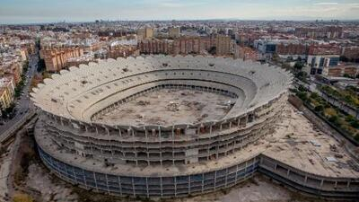 El Valencia anuncia que reactiva la construcción del 'Nou Mestalla'
