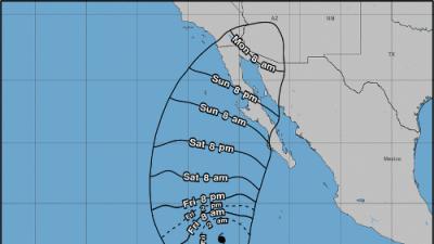 Rosa se fortalece y adquiere categoría 4 en su avance hacia el occidente de México