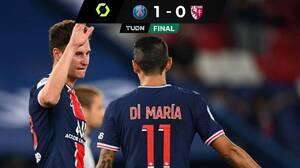 Gran jugada de Di María y definición de Draxler le dan triunfo de último minuto al PSG