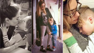 Galilea Montijo y su hijo Mateo te harán derretir de ternura con estas fotos