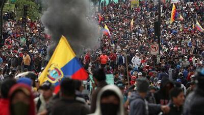Lenín Moreno culpa a Rafael Correa de incitar las protestas para un golpe de Estado con ayuda de Venezuela