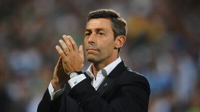 Pedro Caixinha, nuevo entrenador del Cruz Azul