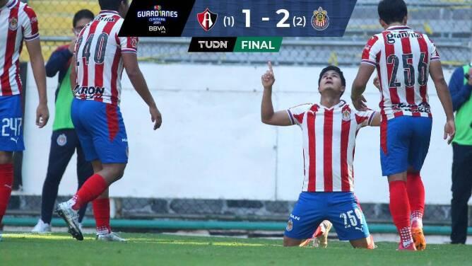 Chivas se proclama campeón Sub 17 tras vencer al Atlas