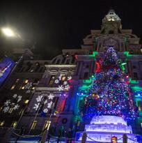 Se enciende la Navidad en la Ciudad del Amor Fraterno
