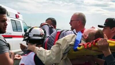 Germán Lizárraga sufre una caída en carretera que lo deja con una lesión en su cadera