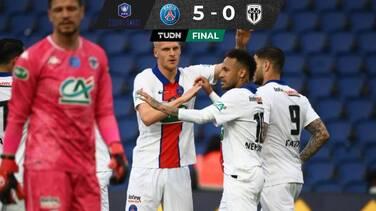 Icardi y Neymar meten al PSG en las semifinales de la Copa de Francia