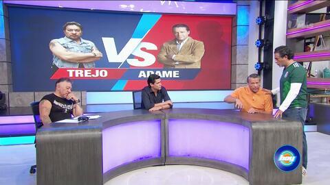 Esto fue todo lo que pasó entre Alfredo Adame y 'El Cazafantasmas' al pactar la pelea frente a las cámaras de TV