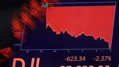 La Bolsa de Nueva York se derrumba con la profundización de la guerra comercial de Estados Unidos y China