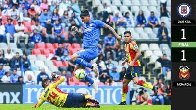 Cruz Azul no pasa del empate con Morelia y apunta al América en Cuartos de Final