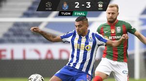 ¡Sorpresa! El Porto y Tecatito pierden con el Marítimo