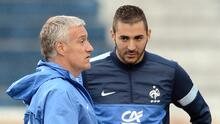Deschamps sigue sin perdonar a Karim Benzema