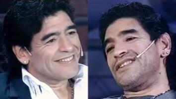 El día que Maradona entrevistó a Maradona para hablar de amor, adicciones y hasta la muerte