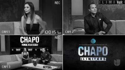"""La escena del primer episodio de 'El Chapo' que dejó """"impactados"""" a Lourdes Stephen y Carlos Calderón"""