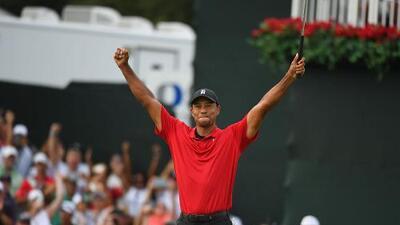 ¡Tiger está de vuelta! Acaba la sequía de Woods al ganar el The Tour Championship