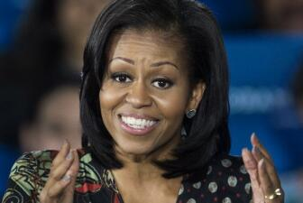Los 50 momentos memorables de Michelle Obama
