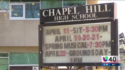 Registran amenaza de tiroteo a escuela secundaria Chapel Hill
