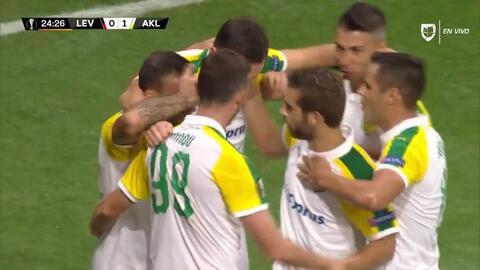 ¡GOOOL! Ivan Trickovski anota para AEK Larnaka