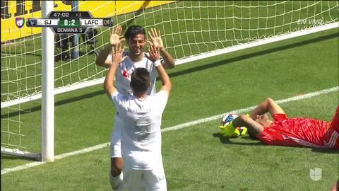 ¡GOOOL! Carlos Vela anota para Los Angeles Football Club