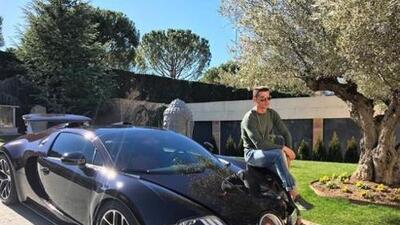 Así alardeó Cristiano Ronaldo de uno de sus lujosos autos de colección