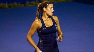 Mónica Puig se despide del Abierto Mexicano con derrota ante sueca Peterson