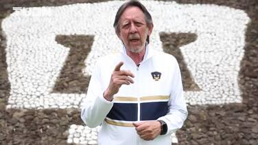 Pumas ratifica a Andrés Lillini y promete refuerzos