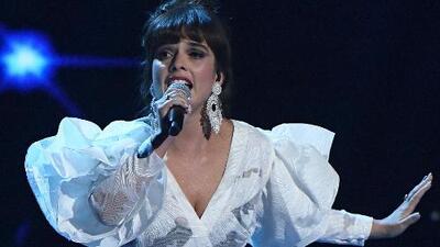Paula Arenas le cantó al desamor con una emotiva interpretación de 'Ahora Soy Libre'