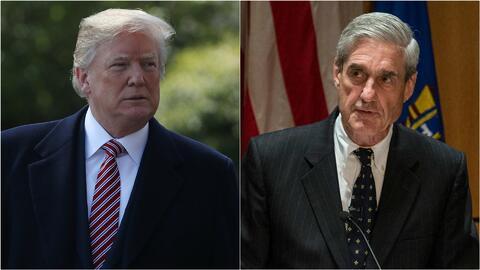 Presidente Trump cree tener poder para despedir al fiscal especial Robert Mueller