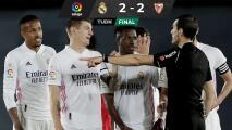 Real Madrid desperdicia oportunidad de ponerse como líder de LaLiga