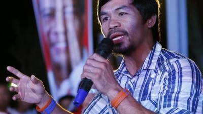 Manny Pacquiao no irá a los Juegos Olímpicos