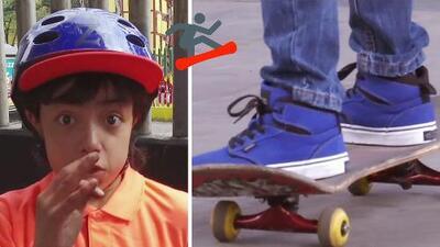 Aprende junto a Pillín las medidas de seguridad a la hora de practicar 'skateboard'