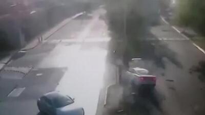 Filtran nuevo video del accidente de Joao Maleck donde murieron unos recién casados en México
