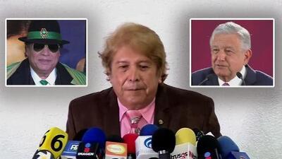 Juan Gabriel reaparecerá cuando AMLO lo ordene, afirma exmánager en una controvertida rueda de prensa