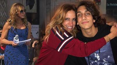 Lili Estefan sintió terror al imaginar que su hijo, Lorenzo Jr., fuera víctima del tiroteo en California