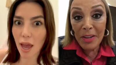 """Frida Sofía explota contra su tía Sylvia Pasquel y la amenaza: """"Tú no te metas, wey"""""""