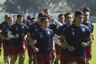 ¿Cómo esperan al 'Hermoso'?: así entrena Chivas de Guadalajara para el Apertura 2019