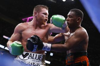 En fotos: ¡El mejor de las 160 libras! 'Canelo' Álvarez derrota a Daniel Jacobs por decisión unánime