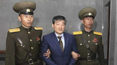 Corea del Norte condena a un ciudadano estadounidense a diez años de trabajos forzados