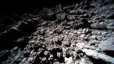 ¿Has visto un asteroide de cerca? Mira las primeras imágenes desde uno de ellos