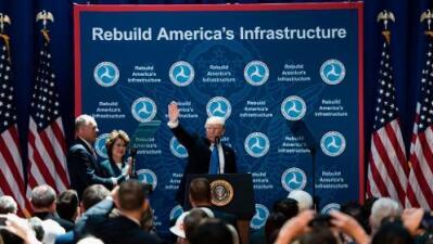 El nuevo plan de infraestructura de Trump pondrá presión financiera a las ciudades y estados