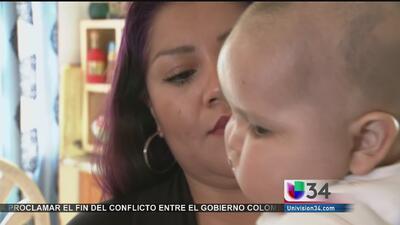 Bebé con una rara enfermedad no puede reunirse con su madre por deportación