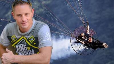 Estrella de YouTube grabó su propia muerte en un 'paraglider'
